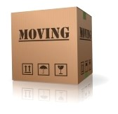 8108273-moving-cardboard-box